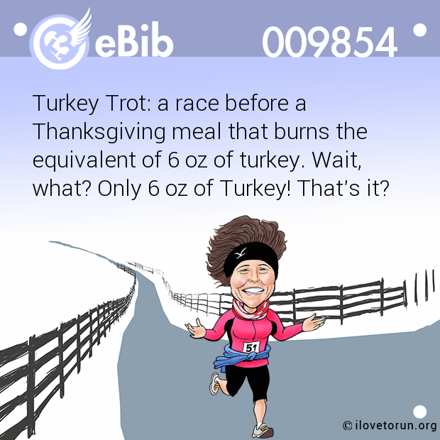 Turkey Trot: a race before a