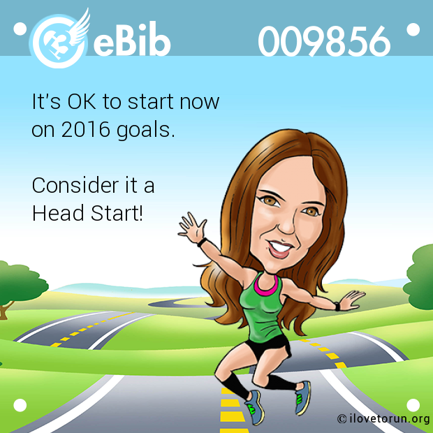 It's OK to start now 