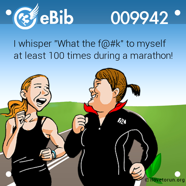"I whisper ""What the f@#k"" to myself