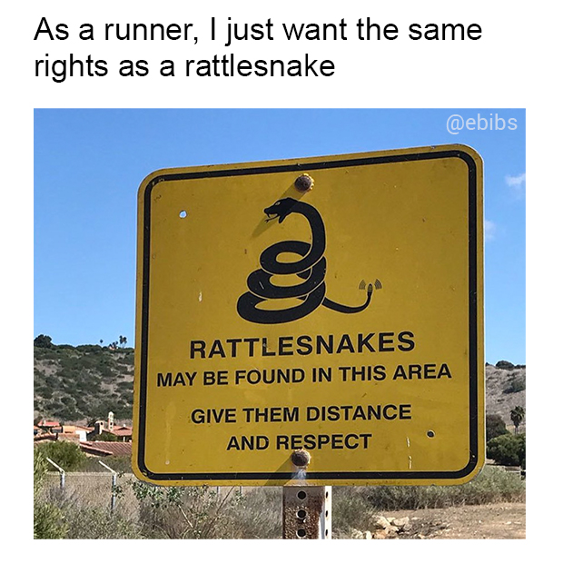 Runner's rights