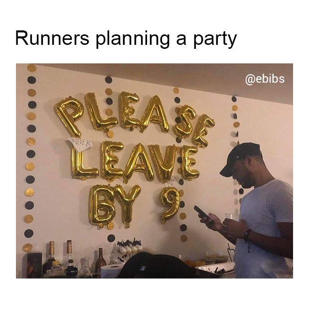 runners party