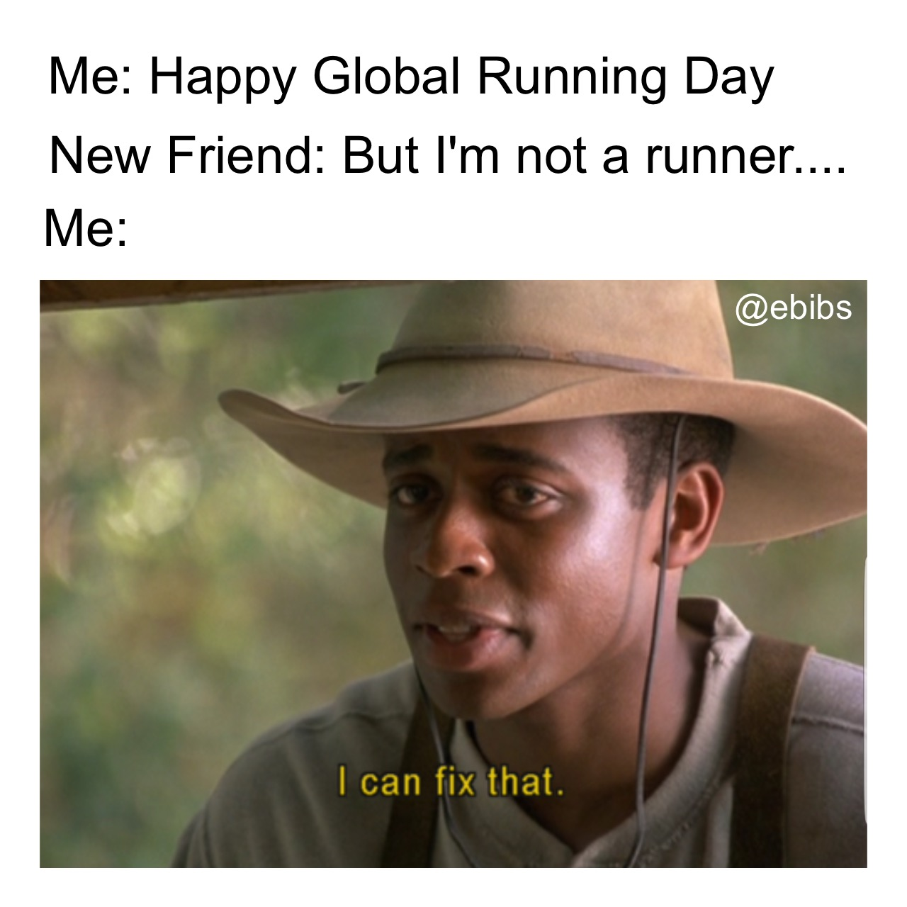 Happy Global Running Day
