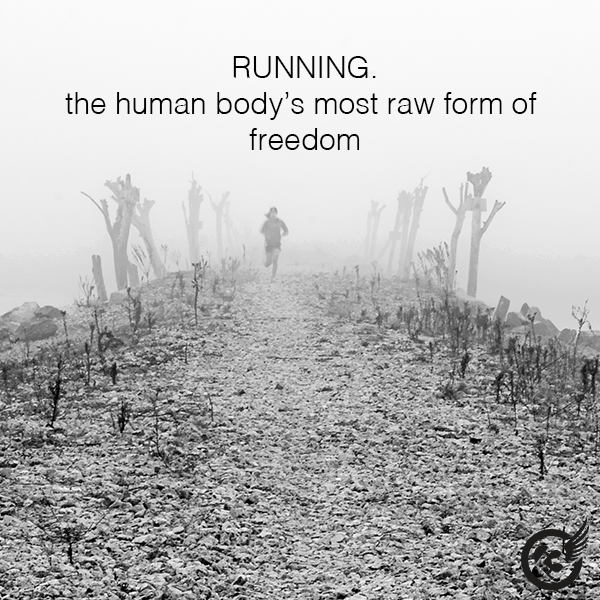 We runners are a unique breed....