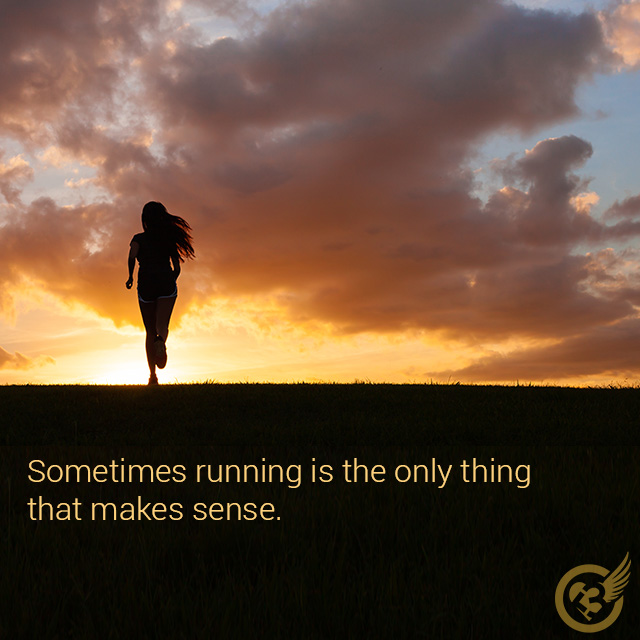 Running has taken me in and continues to comfort, heal, and challenge me in all kinds of magical ways. I am not a good runner because I am me, I am a good me because I am a runner.