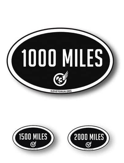 MILES STICKER (2-pack)