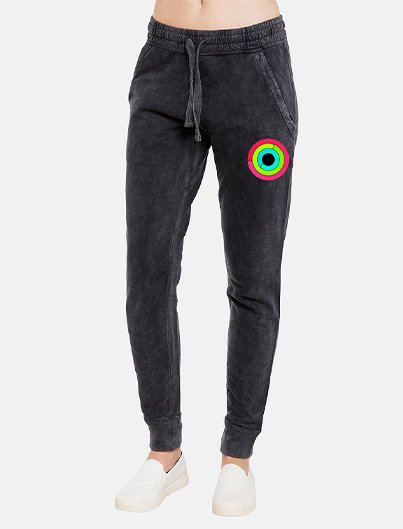 CLOSE YOUR RINGS mineral wash joggers