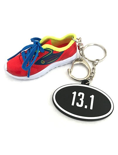 ilovetorun RUNNING SHOE, 13.1 bag charm