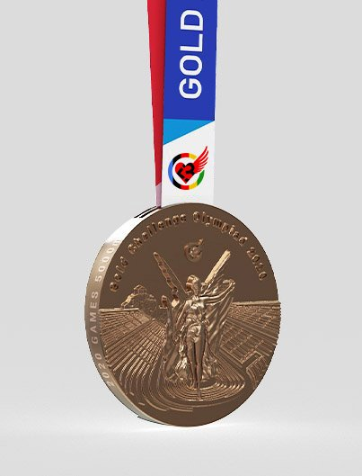 GAMES 5K BRONZE medal