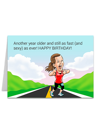 Fast and Sexy 2 - Greeting Card