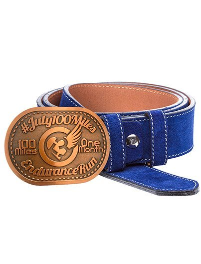 100Miles1Month Buckle, JULY