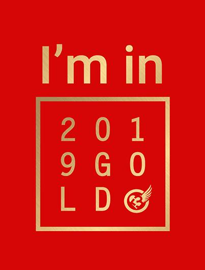 2019 GOLD CHALLENGE participant