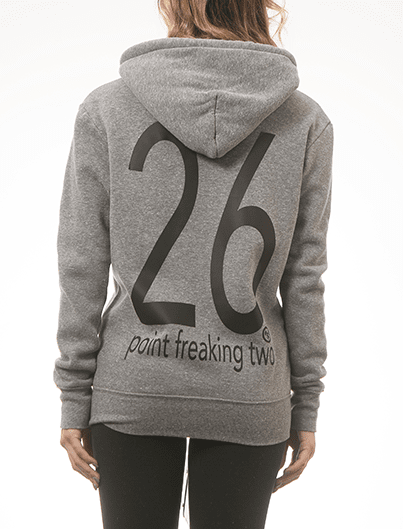 26 Point Freaking Two, Unisex Hoodie