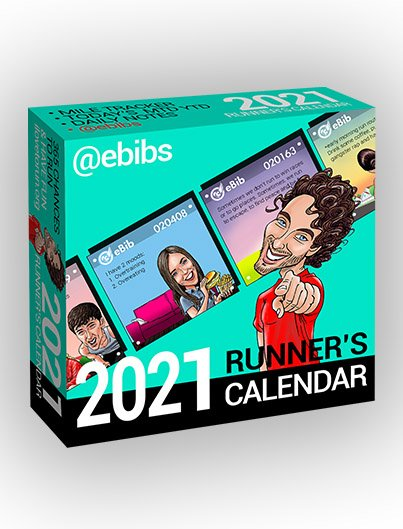 2021 Runner's Daily eBibs Calendar