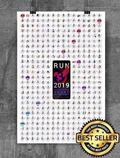 2019 RUNNER'S VISUAL CALENDAR