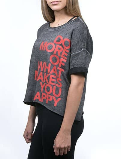 DO MORE acid fleece tee