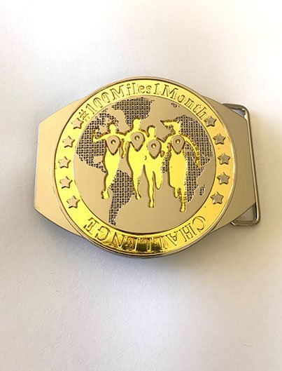 100 Miles Buckle