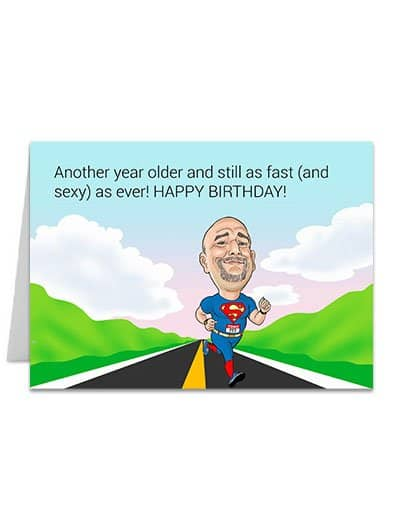 Fast and Sexy - Greeting Card