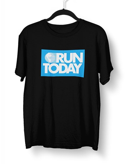 RUN TODAY unisex deluxe tee