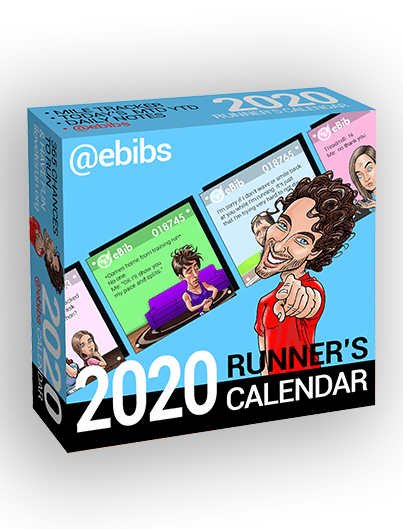 2020 RUNNER'S DAILY eBIBS CALENDAR