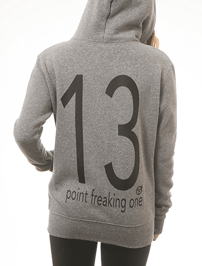 13 POINT FREAKING ONE unisex hoodie