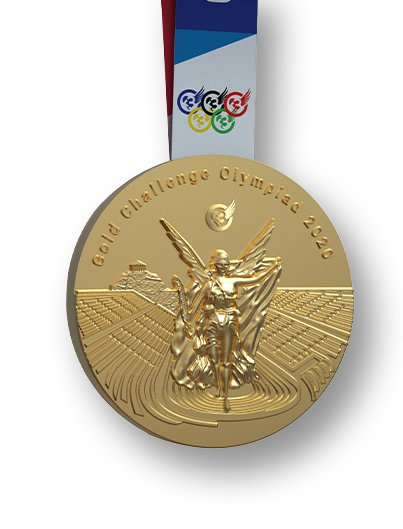 GOLD CHALLENGE OLYMPIAD 2020 medal