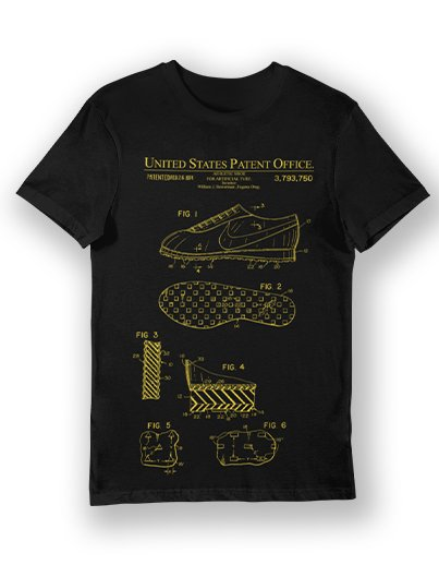 WAFFLE SHOE 1974 PATENT deluxe tee