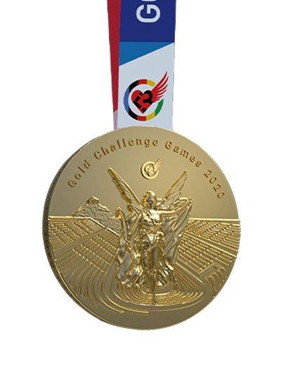GOLD CHALLENGE GAMES 2020 medal